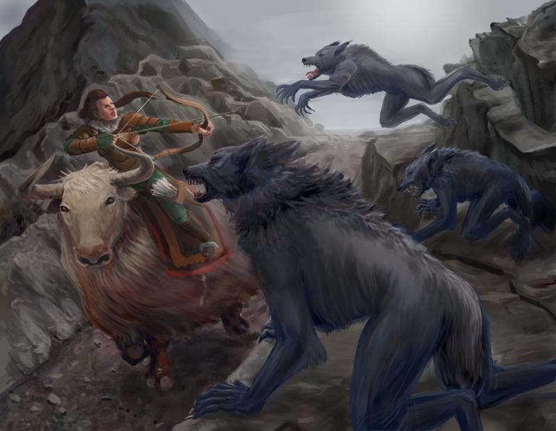 Werewolf Attack by quickmind