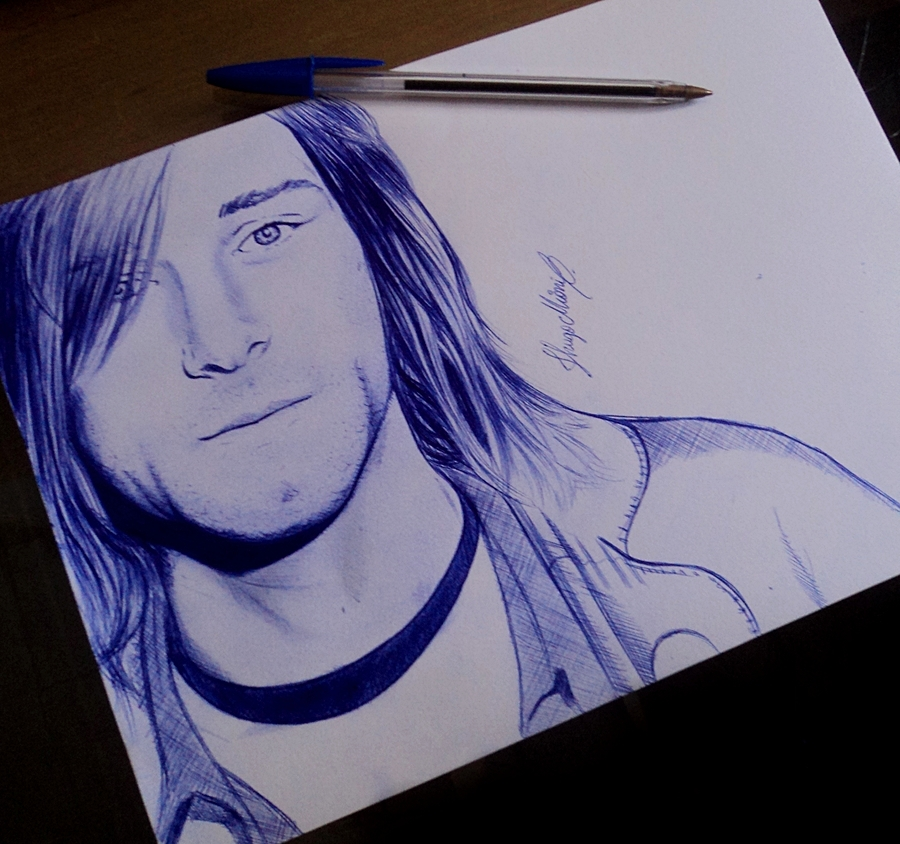 Kurt Cobain BIC by HMioni