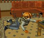 Reaching Tiger, Choking Python