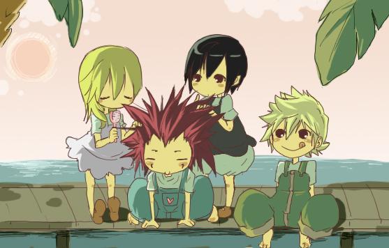 KH: He's like a pet C: by mixy-shiru