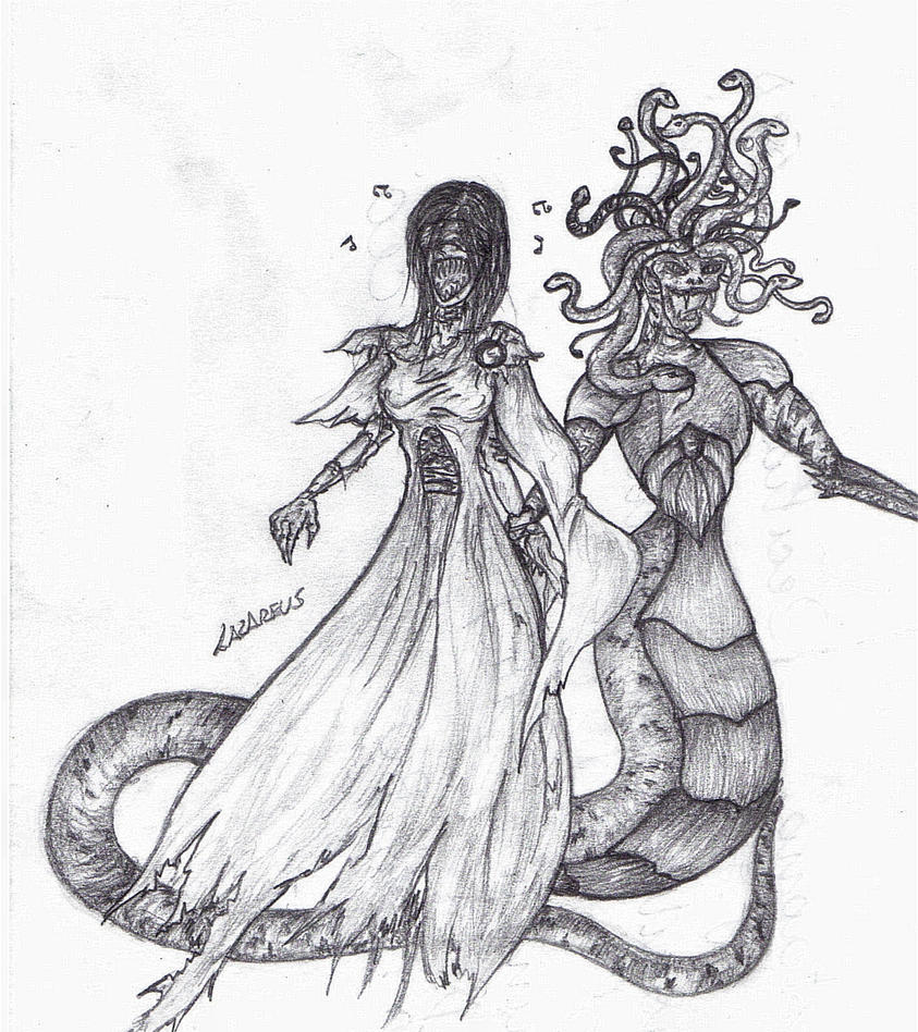 Medusa And Siren Picture, Medusa And Siren Image