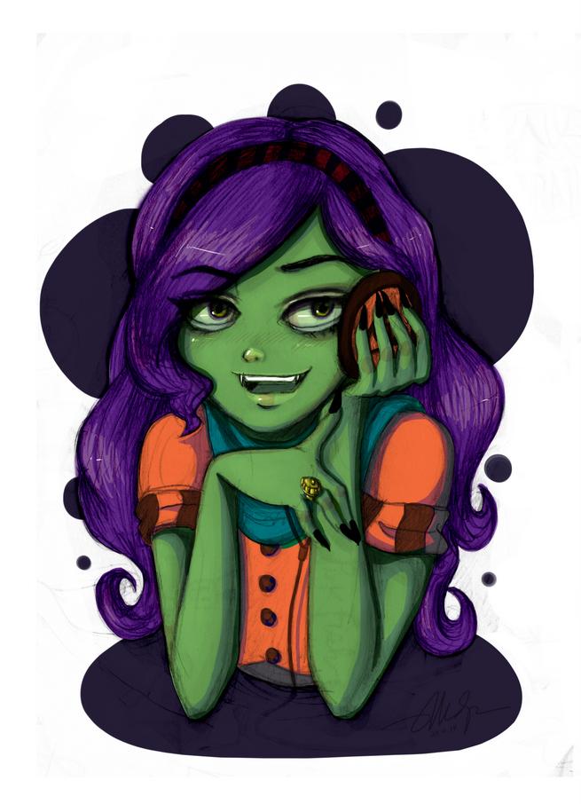 Friendly Spooks by amaliadaniels