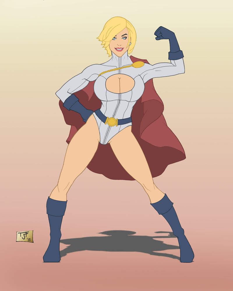 Power Girl by ReapingDarkSide