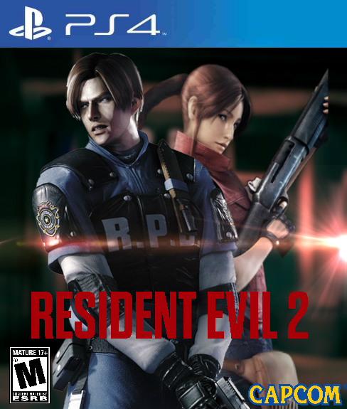 Post -- Resident Evil 2 Remake -- 25 de Enero 2019 Resident_evil_2_remake_cover_by_yearlingposters-da9yngl