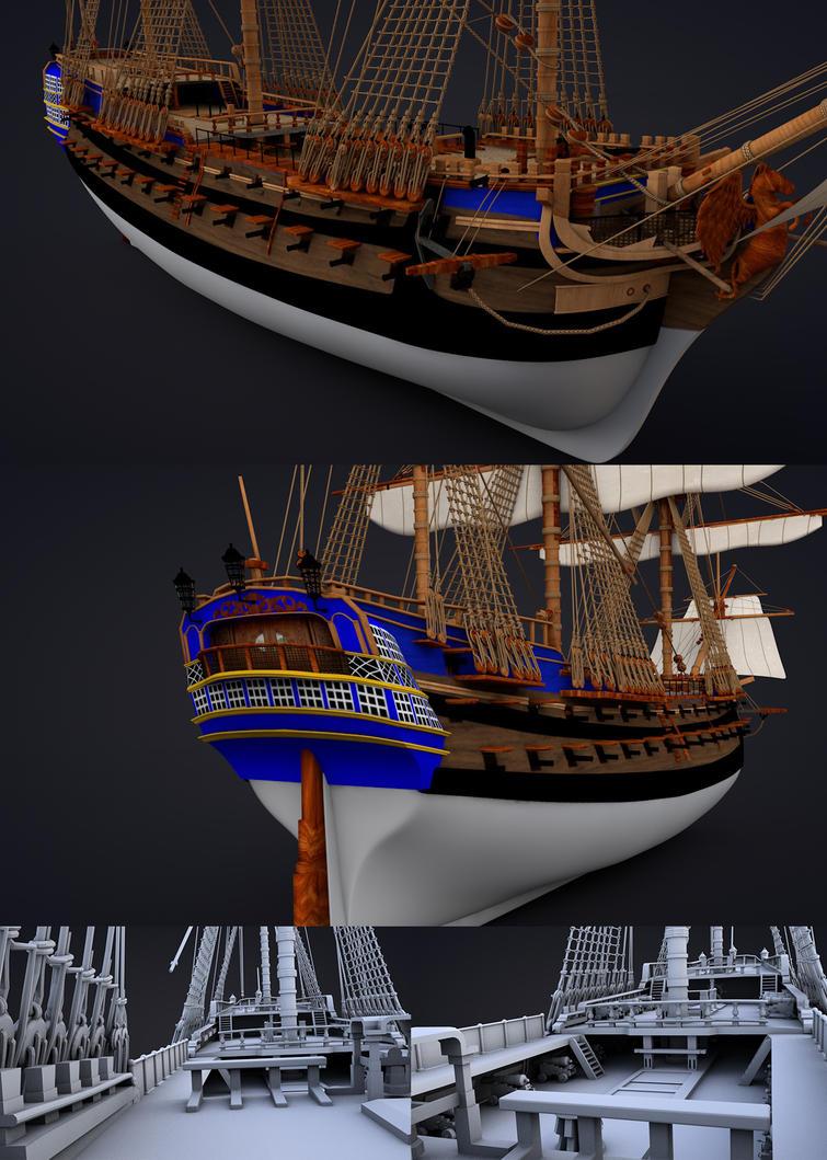 ship by sameh-koko2