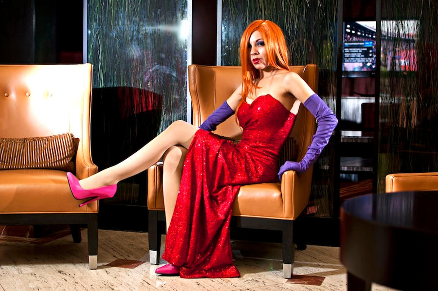 Jessica Rabbit by MomoKurumi