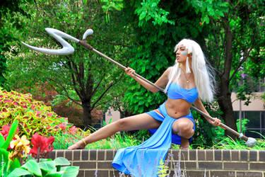 Kida: Warrior Princess by MomoKarinyo