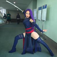 Psylocke Preview by MomoKurumi
