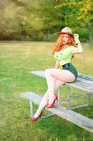 Jessica Rabbit: Pin-Up Park Ranger by MomoKurumi