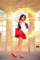 Sailor Mars: Burning Mandala by MomoKurumi