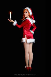 Jessica Rabbit: Happy Holiday by MomoKurumi