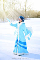 Taelia the Snow Faerie by MomoKurumi