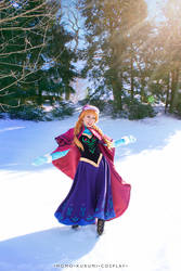 Princess Anna by MomoKurumi