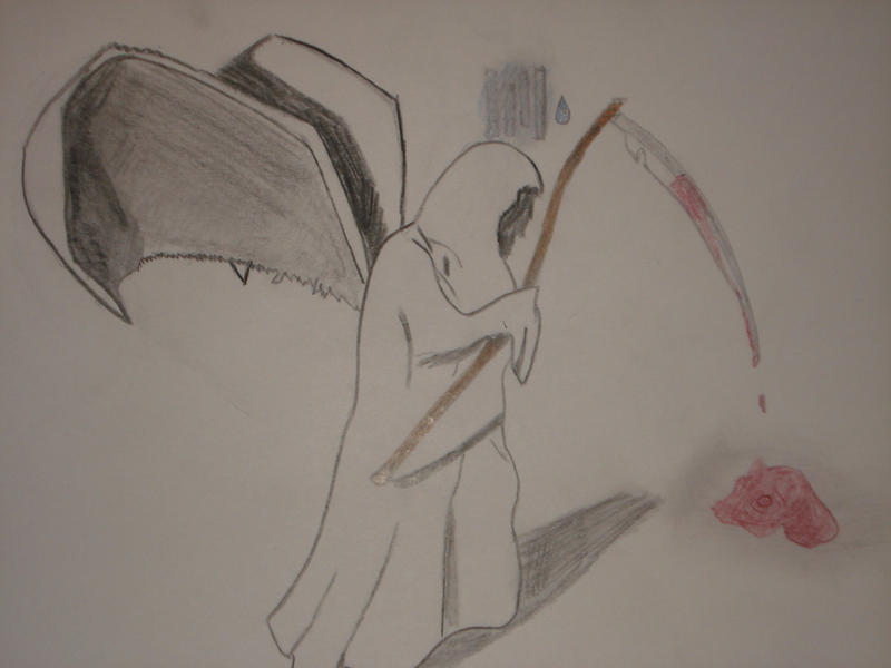 depressed angel drawings - photo #16