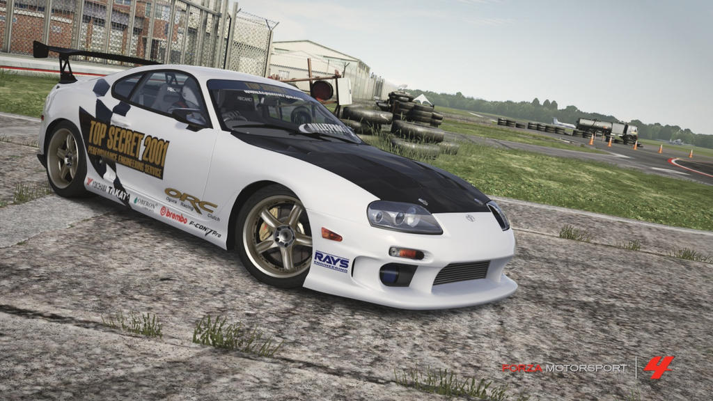 Forza 4   Top Secret Toyota Supra 0   300 By RyoFox630 ...