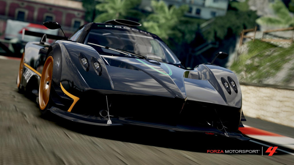 forza 4 pagani zonda r by ryofox630 on deviantart. Black Bedroom Furniture Sets. Home Design Ideas