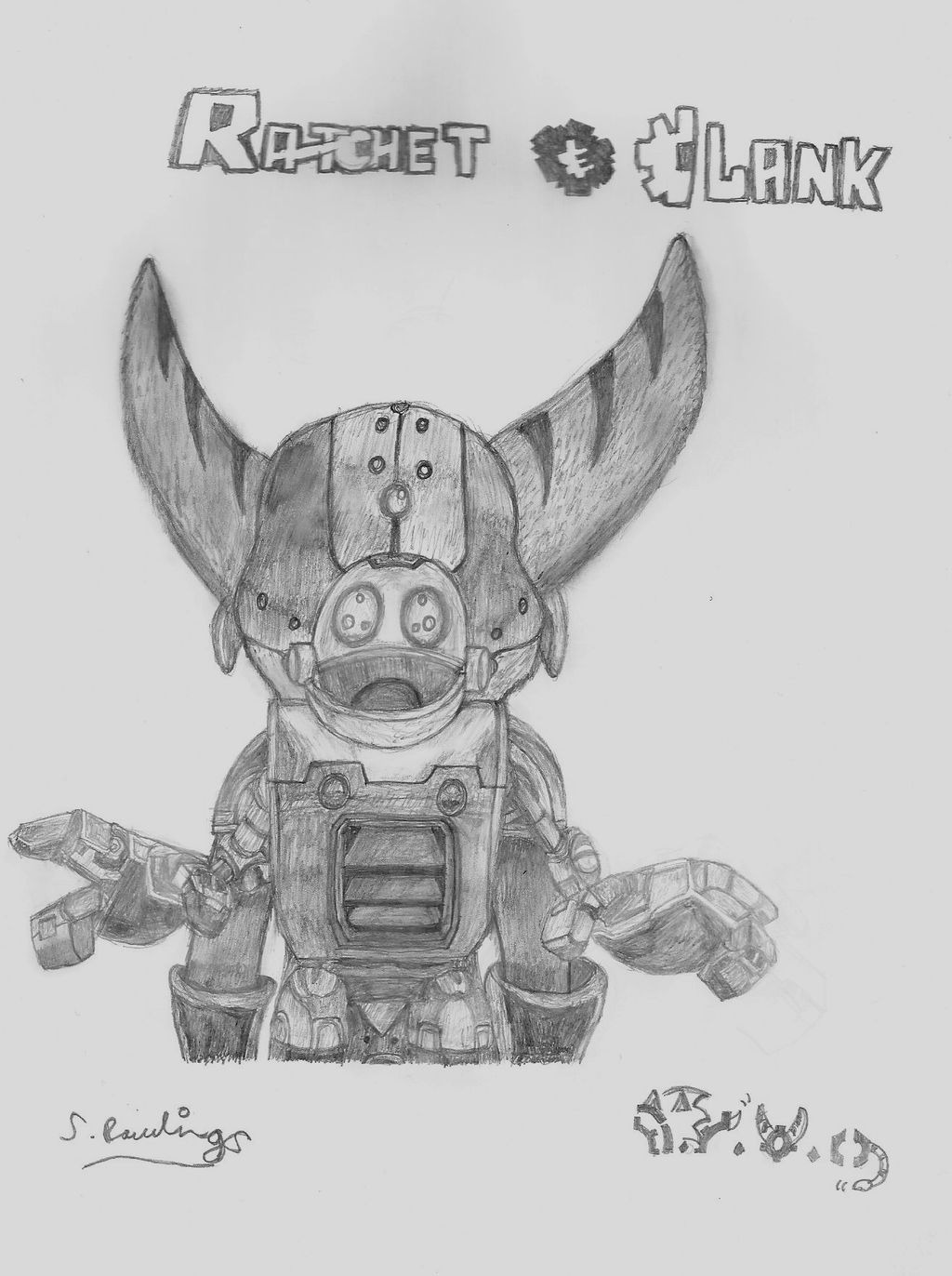 ToD - Ratchet and Clank Sketch