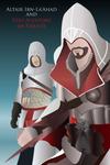 Altair and Ezio Vector by HedgeCatDragonix