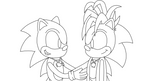 Example of Lineart 1 by HedgeCatDragonix