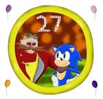Happy Birthday to Sonic and Eggy~!