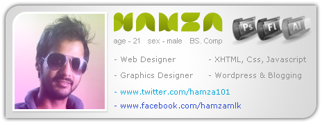 hamzahamo's Profile Picture