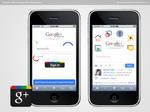 Google Plus iPhone App Design