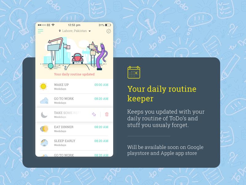 ToDo Reminder App by hamzahamo