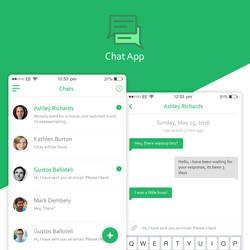 Chat Application by hamzahamo