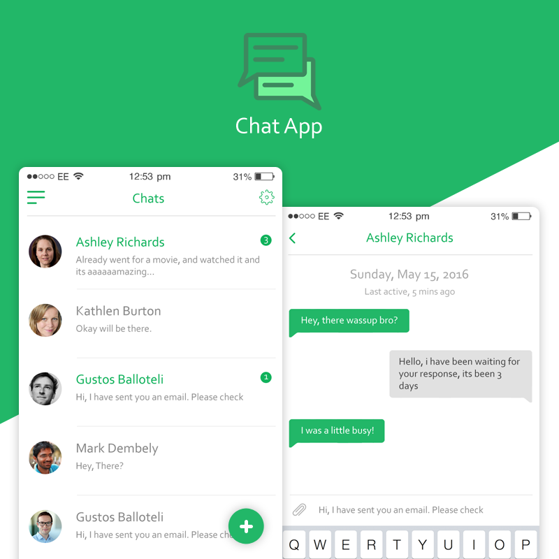 Chat Application by hamzahamo