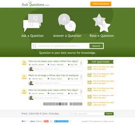 AskQuestion Website by hamzahamo