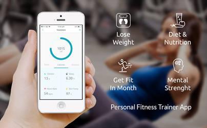 Fitness Mobile Application by hamzahamo