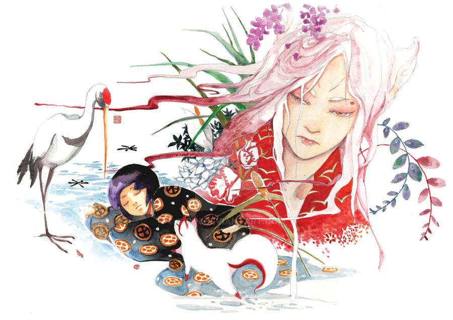 Kitsune no Himitsu by S-P-N