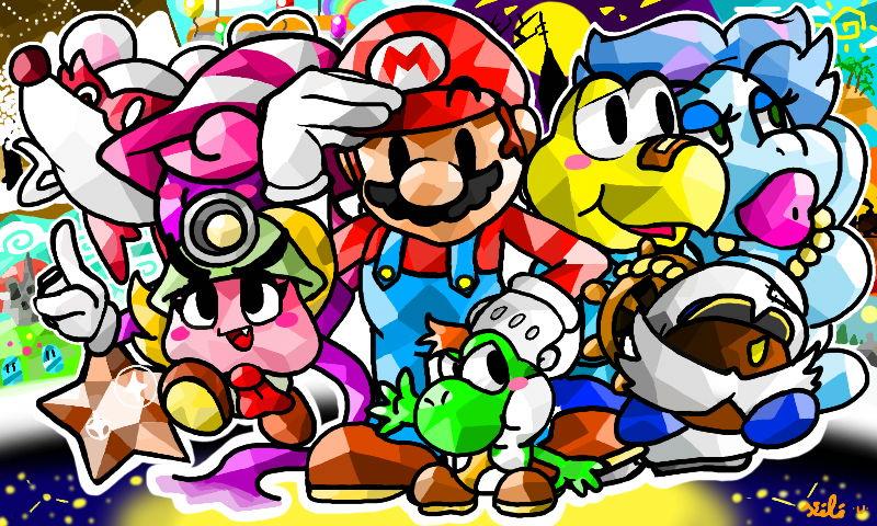 Paper Mario by Kokorokeke