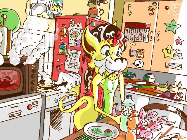 Kitchen by Kokorokeke