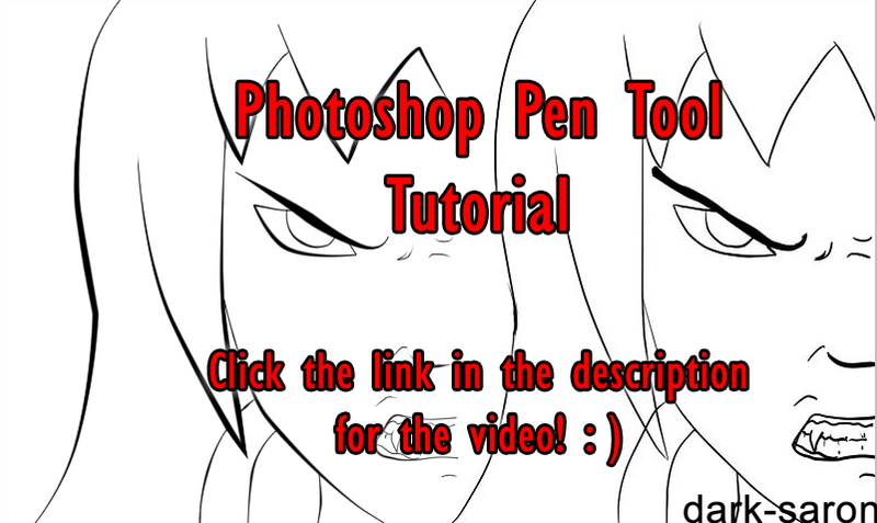 Line Art Using Pen Tool : Photoshop pen tool tutorial by headlight on deviantart
