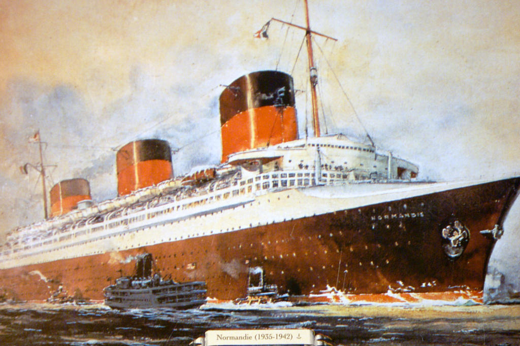 Ss Normandie 1935 By Lahrdeco On Deviantart