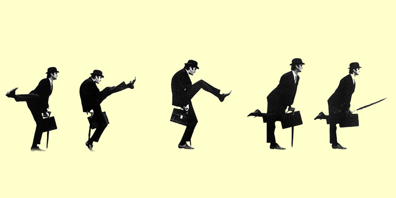 Ministry of Silly Walks by chaplin007