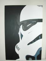 Storm Trooper - Star Wars by chaplin007