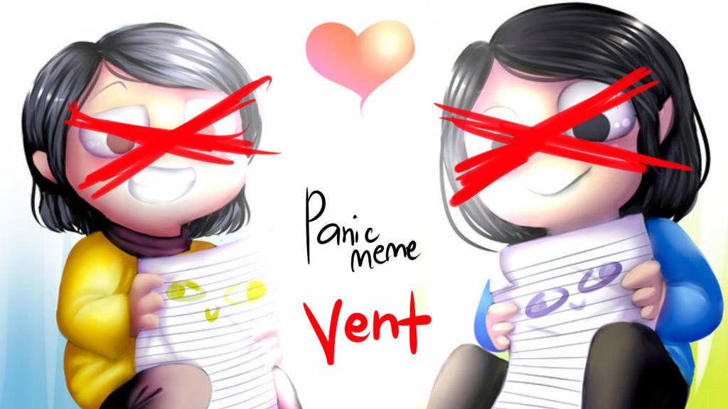 panic meme by Dane-elle
