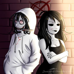 Jane And Jeff The Killer by Dane-elle