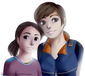 Dbh Kara And Alice by Dane-elle