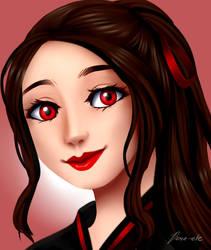 red Gorl by Dane-elle