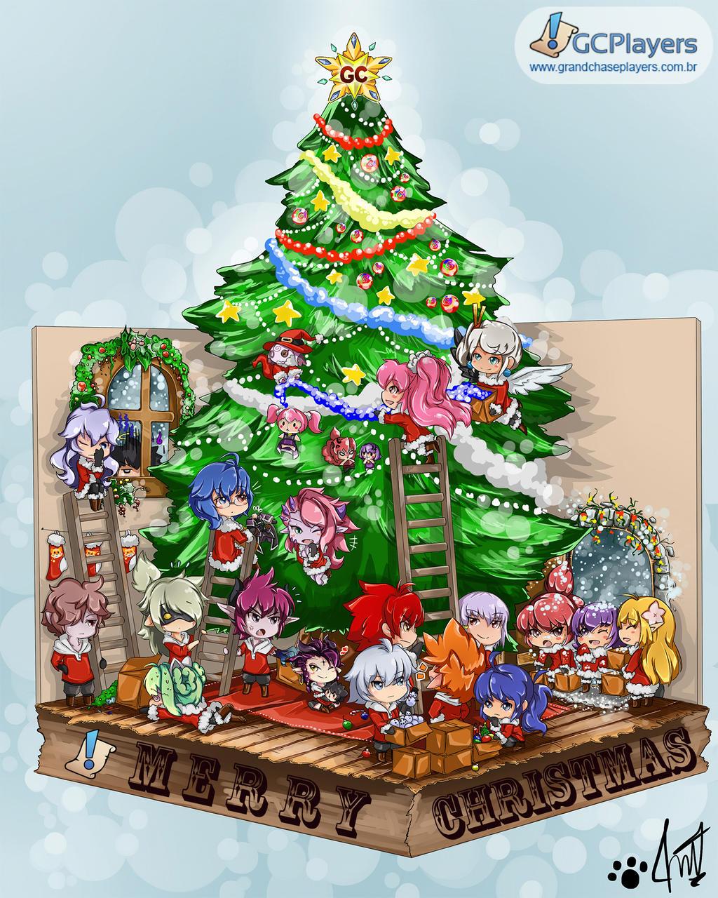 Grand Chase Merry Christmas by miyuu490 on DeviantArt