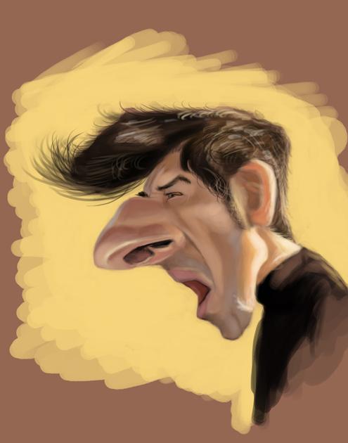 JM Borot Caricature by DoodleArtStudios