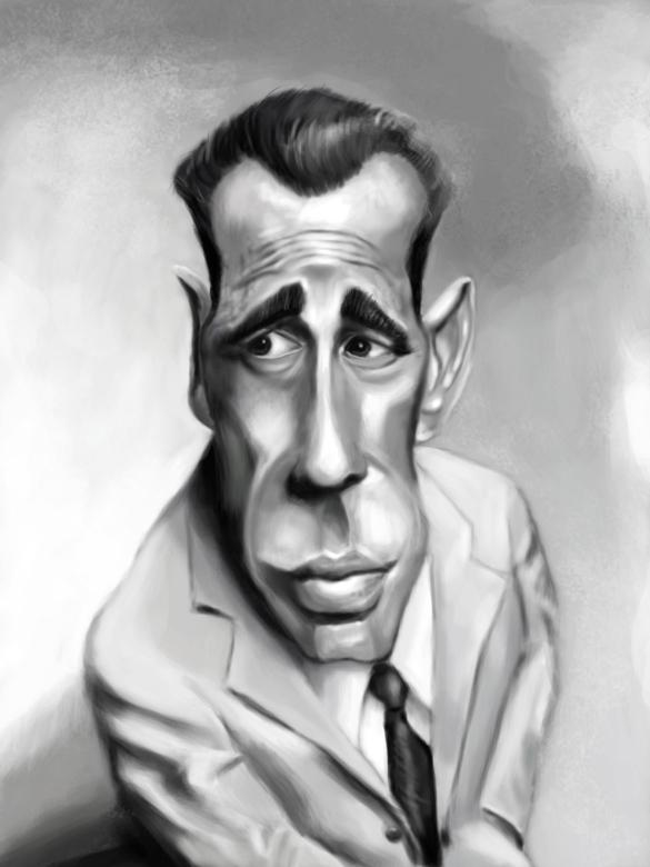 Bogart Caricature by DoodleArtStudios