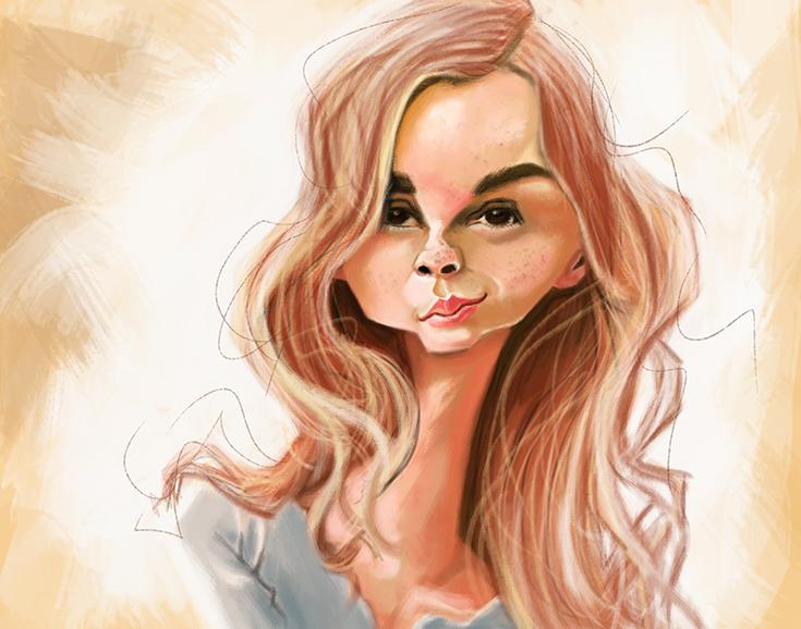 Emma Watson by DoodleArtStudios