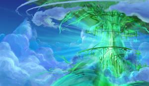 Glastree in the Sky
