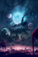 Moonshower by Kamikaye