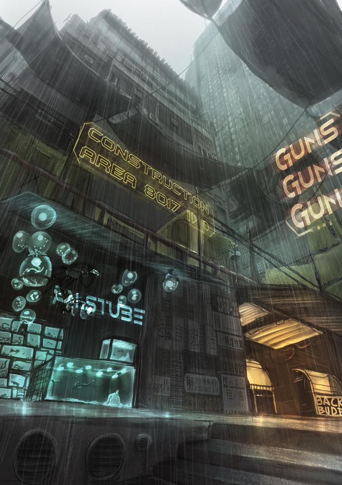 Citygorge 2 by Kamikaye