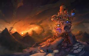 Techmagetower by Kamikaye